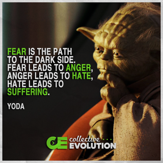 Yoda wise fear anger
