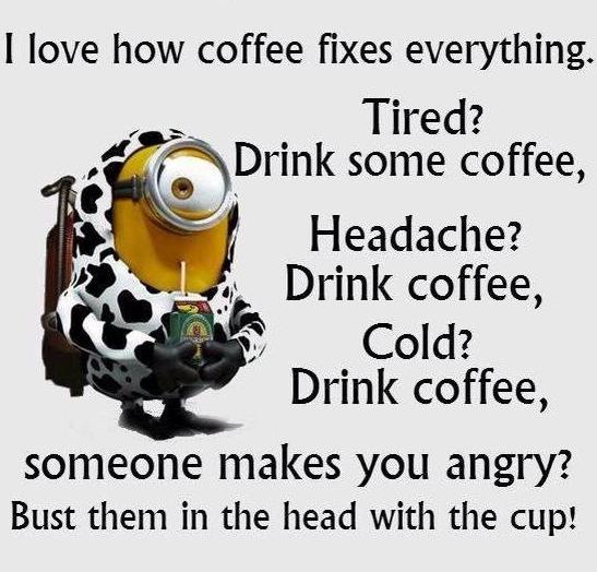 coffee fixes funny