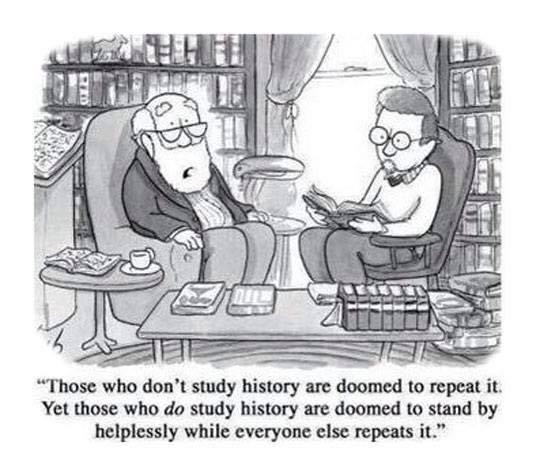 History repeat wisdom