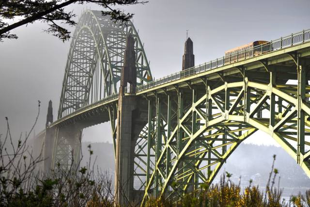 050115-7-15 Ken Gagne Yaquina Bay Bridge