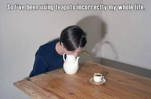 teapot correctly funny