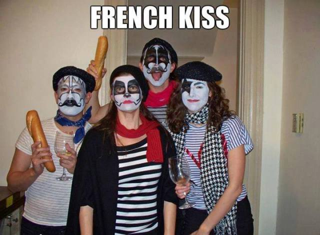 french kiss funny