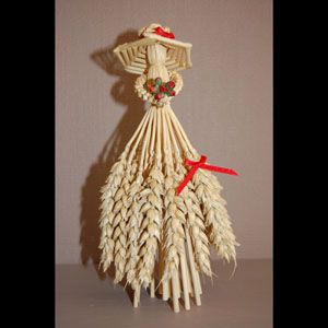 Corn Dolls - Standing Lady - W