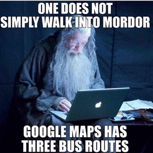 mordor google funny