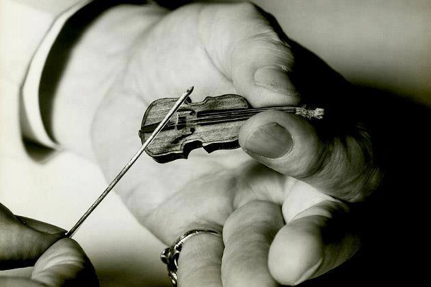 Wise tiny violin