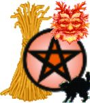 This image has an empty alt attribute; its file name is samhain-pentacle.jpg