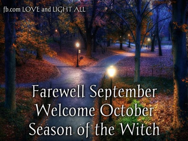 Season of the Witch October wise