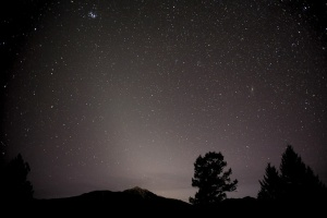 zodiacal_light_3-9-2013_Robert_Ede_Invermere-British_Columbia_Canada