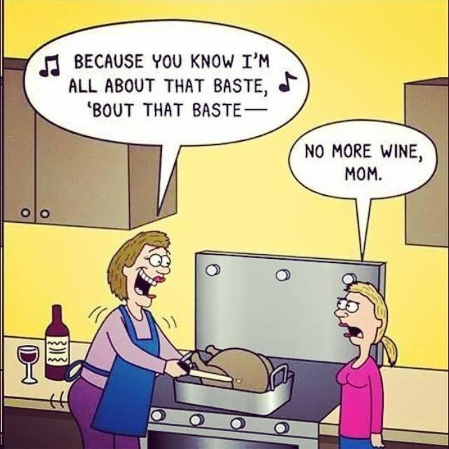 turkey baste funny