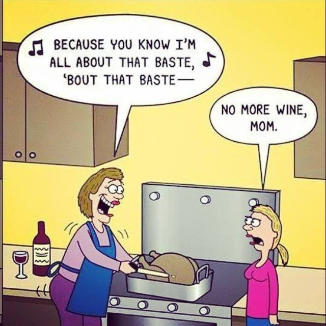 turkey baste funny