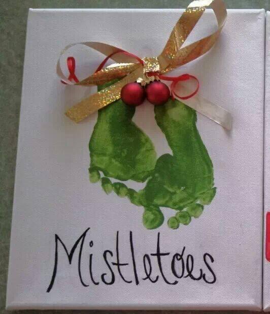 Mistletoes funny Yule