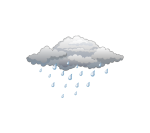 rain weather motif