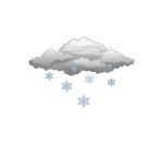 snow weather motif