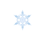snowflake weather motif