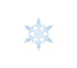 snowflake weather motif
