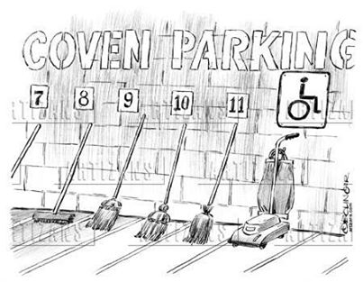 Coven Parking funny