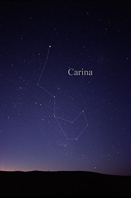 Constellation Carina Canopus astro