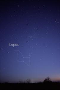 Orion, Lepus