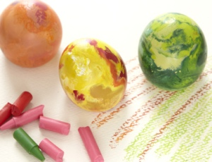 DIY EggShaped Chalk & Crayons 3