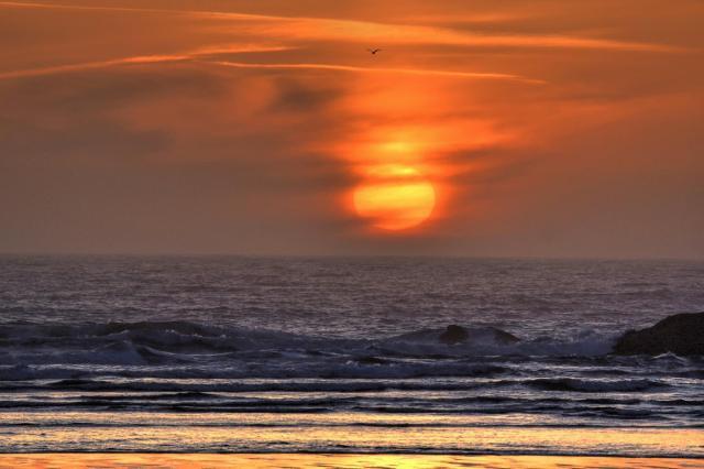 051116 Ken Gagne Yachats Sunset
