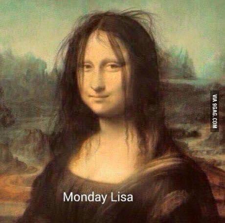 Monday Lisa Funny