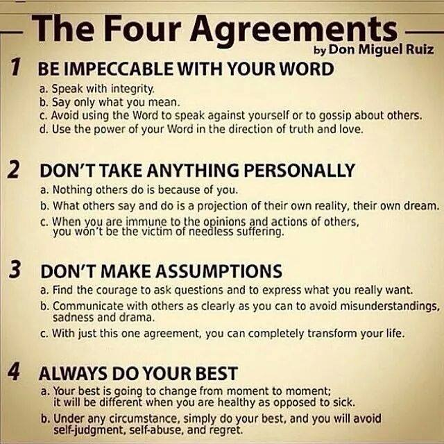 Four Agreements Wise