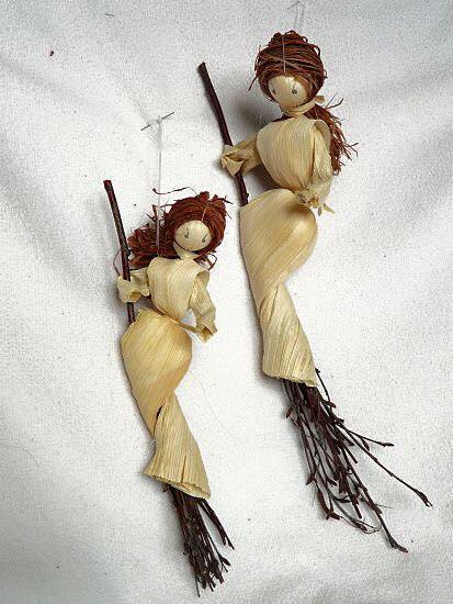 Corn dolly witches