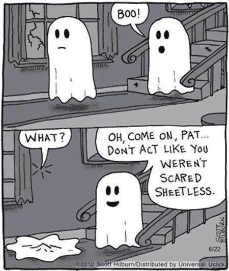 Scare Sheets funny