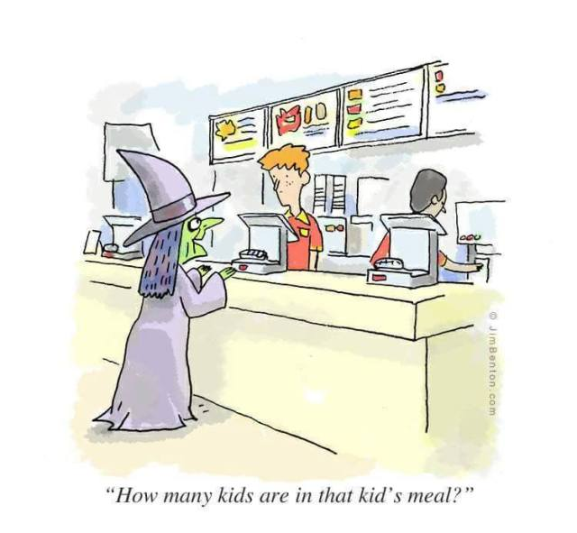Children's Meal funny