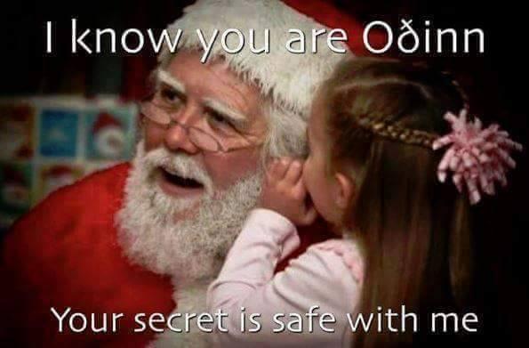 Odin Santa funny