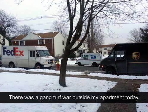 gang turf war funny